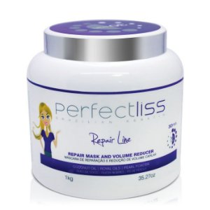 Sos Repair Mask and Volume Reducer - Máscara Reparadora e Redutor de Volume - Perfectliss