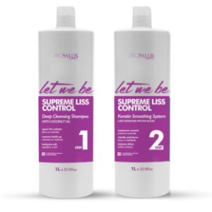 Escova Progressiva Let Me Be Supreme Liss 2 passos 1000ml