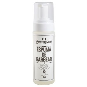 Espuma de barbear 150ml - Beardbrasil