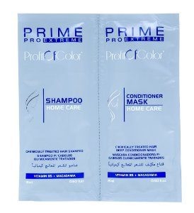 Kit Profit of Color Home Care Prime Pro Extreme - Shampoo 15ml + Máscara Condicionadora 15ml Sachê