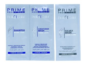 Kit Profit of Color Home Care Prime Pro Extreme - Shampoo + Máscara Condicionadora + Máscara Matizadora Sachê 15ml