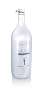 Cauterização Catiônica Max Therapy Step 1 Shampoo Cleaning 1000ml - Magic Pro
