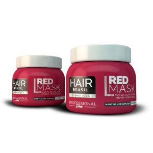 Máscara Vermelha Para Ruivas Red Mask 250g - Hair Brasil