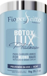 Bootox Lux Platinum Fioperfeitto For Blond Hair Matizador 1Kg