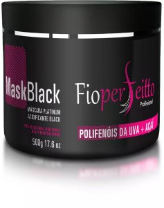 Máscara Black Mask Black Fioperfeitto 500g