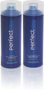 Perfectliss Advance New Advance Shampoo 300ml + Condicionador 300ml Pós Química Manutenção
