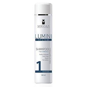Shampoo Tratamento Lumini System 300ml Linha Cliente - Miracula Professional