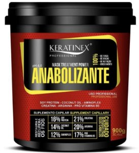 Anabolizante Capilar Keratinex 900g