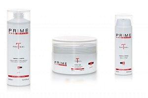 Kit Prime Pro Extreme Thermal - Shampoo + Máscara + Serum Manutenção Homecare