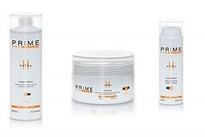 Kit Prime Pro Extreme Hydra - Shampoo + Máscara + Serum Manutenção Homecare