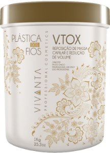 Vtox Bbtox Btox Btx Plástica dos Fios Vivanta 1Kg