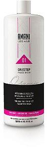 Amani One Step For Export Only 1000ml Amani Liss Hair - Escova Progressiva Amani - Amani Professional