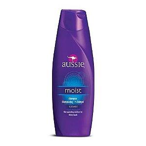 Aussie Moist Shampoo 2 em 1 - 400ml