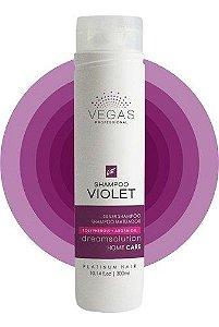 Shampoo Matizador Vegas Violet Manutenção 300ml
