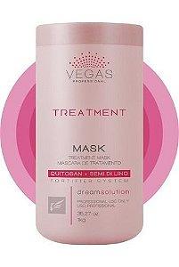Máscara Tratamento Vegas Treatment 1kg Profissional Capilar