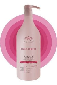 Tratamento Capilar Vegas Treatment Cream 1000ml Profissional