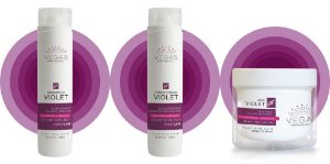 Kit Manutenção Matizador Vegas Violet Professional Kit Completo