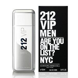 Perfume Masculino Carolina Herrera 212 Vip Men - Eau de Toilette