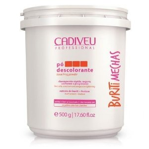 Pó Descolorante Cadiveu Buriti Mechas Dust Free 500g