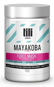 Máscara Ultra Hidratação Tili Mayakoba Force Mask 1Kg - Máscara Reconstrutora