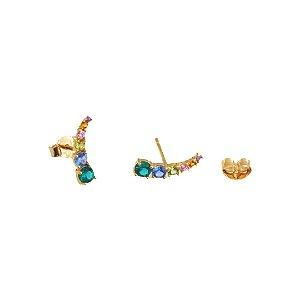 Brinco earcuff colorful