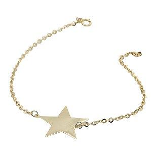 Pulseira Star em ouro amarelo 18k