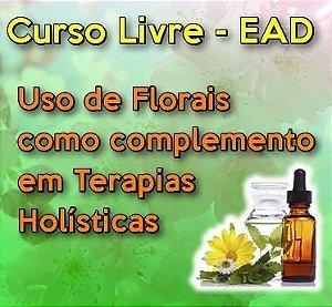 Curso Livre: Uso de Florais como complemento em Terapias Holísticas