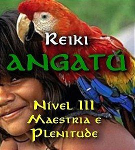 Formação Reiki Angatú I, II e III (Maestria e Plenitude)