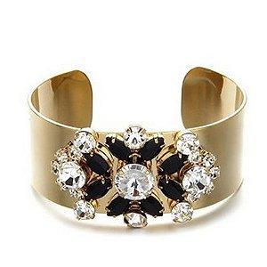 Pulseira Bejeweled larga para Mulher