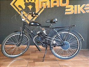 Bicicleta Motorizada Barra Forte Motor 2-Tempo