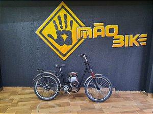 Bicicleta Motorizada 80CC 4 Tempos Mão Bikes Aro 24