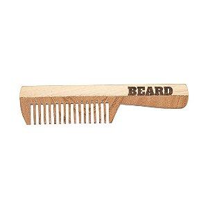 Pente de Madeira Bolso Beard