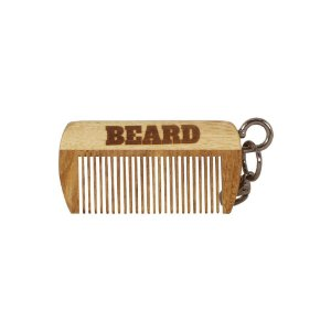 Pente de Madeira Chaveiro Beard