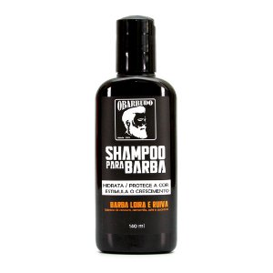 Shampoo para Barba Ruiva e Loira O Barbudo