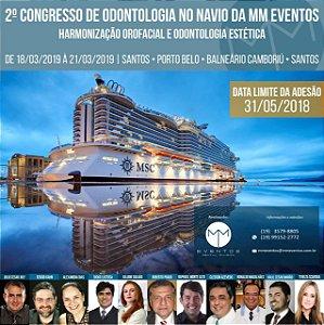 2º CONGRESSO DE ODONTOLOGIA NO NAVIO