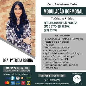 Modulação Hormonal  6 e 7 de Abril em São Paulo