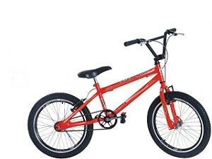Bicicleta BMX S10 - 20 LARANJA NEON
