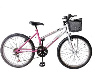 Depedal Mountain Bike 24 Feminina - ROSA