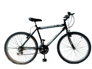 Depedal Mountain Bike 26 Masculina - PRETA