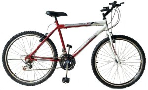 Depedal Mountain Bike 26 - VERMELHA AERO
