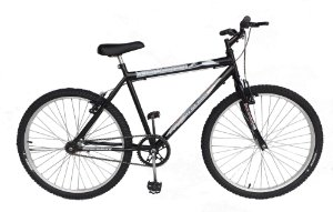 Depedal Mountain Bike 26 Masculina - PRETA S/MARCHAS