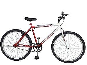 Depedal Mountain Bike 26 Masculina - VERMELHA S/MARCHAS