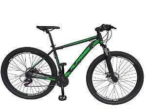 Bicicleta ALFAMEQ 29 - PRETO/VERDE