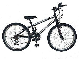 Depedal Mountain Bike 24 - PRETA