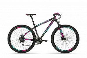 Bicicleta SENSE FUN 2019 KIT 24V - ROSA/AZUL