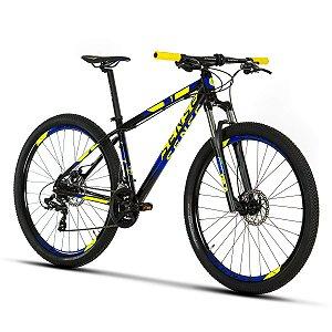 Bicicleta SENSE ONE 2019 KIT 21V - AMARELO/AZUL