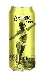 Cerveja Siciliana Witbier - caixa com 12 latas
