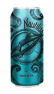 Cerveja Nautilus American IPA - caixa com 12 latas