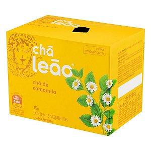 Chá de Camomila Leão Fuze 15g com 15 unidades