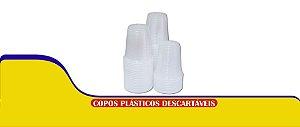 Copo descartavel cx 300 ml transp 1x2000 PP - plasmel